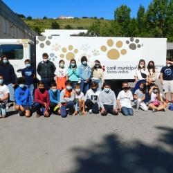 Turma da escola S. Gonçalo realizou recolha de bens para animais do Canil Municipal